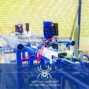 دستگاه فنس بافی نیمه اتوماتیک